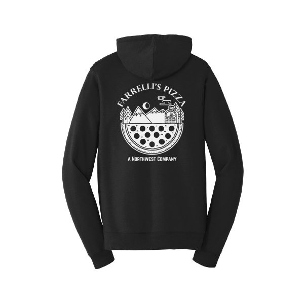 FB1019 Northwest Company Pullover Hoodie back black