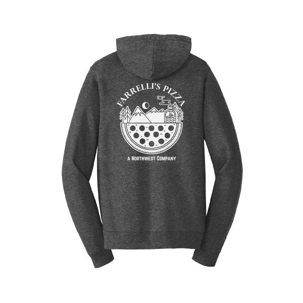 FB1019 Northwest Company Pullover Hoodie back darkheather