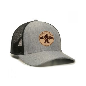 1 FP1220 2in Round Patch Sasquatch Design Cap